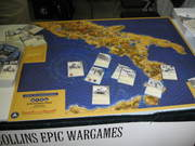 Gen Con Indy Day 1 Collins Epic Wargames Product Display - Frontline General: Italian Campaign Introduction