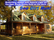 All about log home care