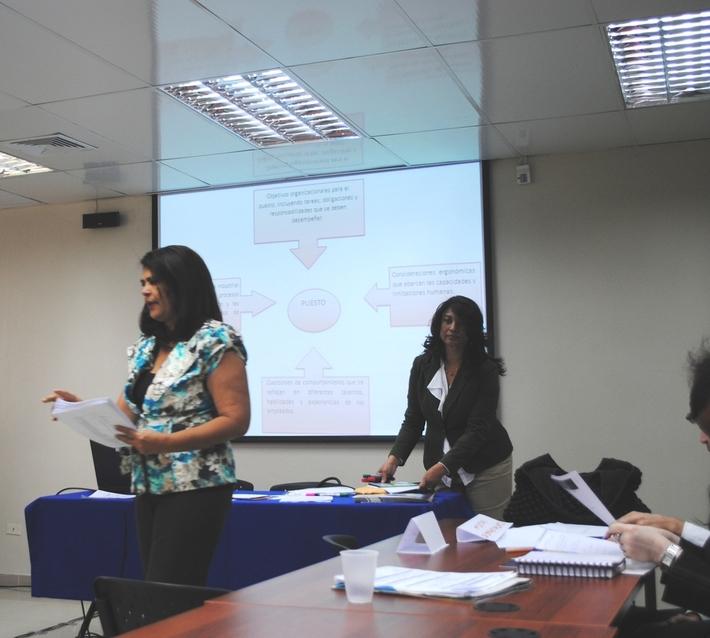 NOV 2012, SEMINARIO TALLER 'Seleccion de Personal para directivos de COS
