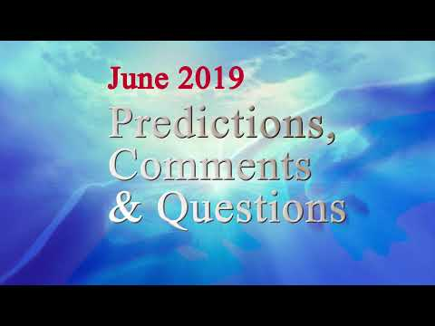 Predictions, Comments and Questions