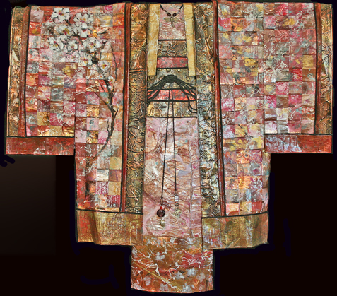 Kimono #45 cherry  blossom for mimi