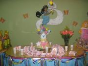 Fiesta princesas disney - decoracion mesa