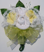 Rose Baby Sock Corsage