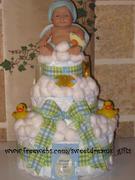 DIAPER CAKE -BABY