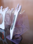 espejos para princesas sovenirs