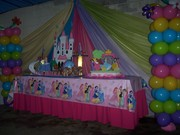 decoracion de la mesa (princesa)