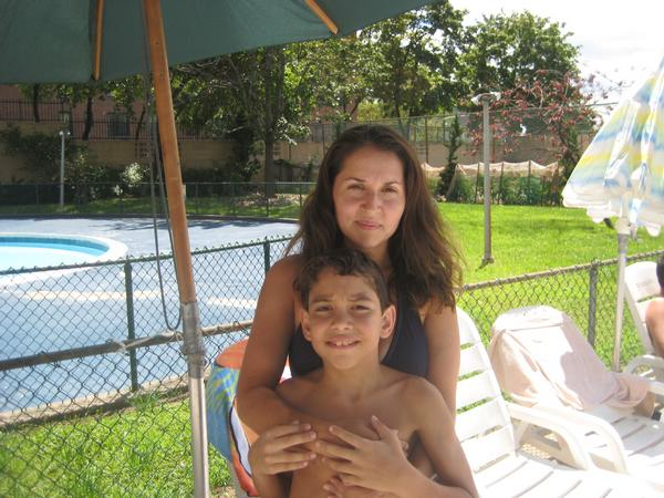 My sister and her middle son