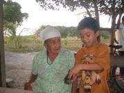 Grandma - Rosa Marco and Izzat (Guy Jr)