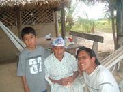 Three generations - Izzat, Grandma - Rosa (my Mom) and me Alekuna & Macushi