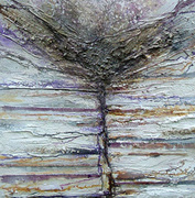Belsay hall Quarry gardensRock & Root series  Purple&Sepia
