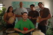 My drum students and me