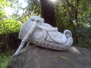 Sacred Serpent Head Effigy