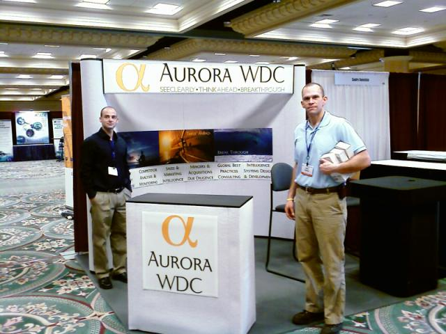 SCIP08 Booth Setup