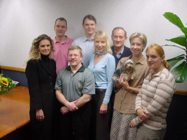 Craig & Arik with IBIS staff