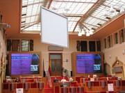 Dr. Craig Fleisher Speaking at City Hall Prague