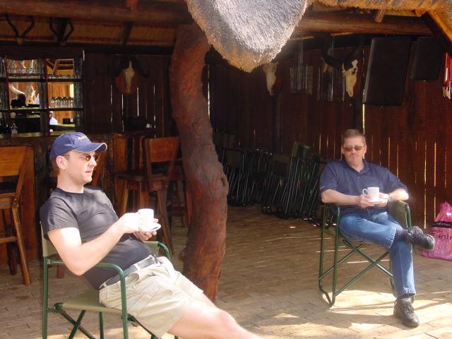 Contemplating the Future - Craig & Arik