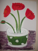 Poppies in Pot