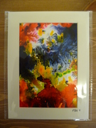 Ink Painting on paper (mounted)
