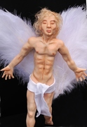 Garbiel - Male Angel - Art Sculpture