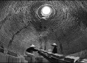 In the brick kiln
