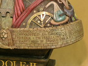 Rudolf II - detail on the left side