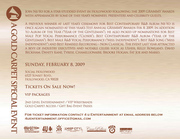 Ne-Yo Official Grammy Flyer 09 back