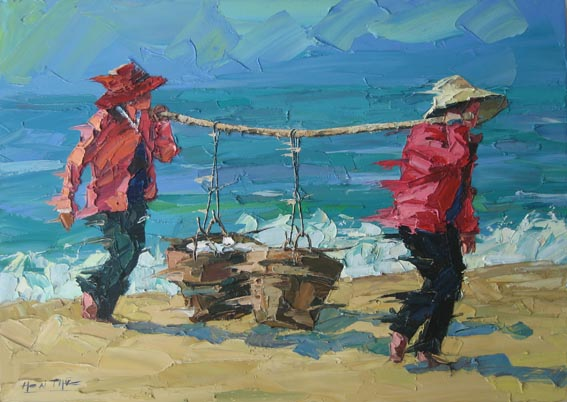 carrying fish II