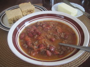 chili and conbread