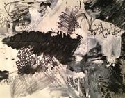 Lyrical Abstract - 11 x 14 - #1