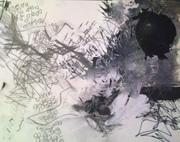 Lyrical Abstract - 11 x 14 - #4