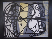 objective abstract 1922 Picasso inspired
