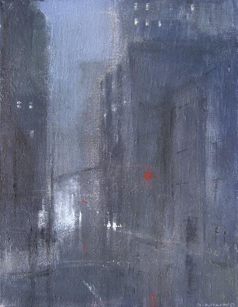 Rainy Night In Manhattan