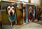 8x8 ft Paintings An Act of Dog Inc.