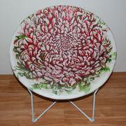 Chrysanthemums Chair