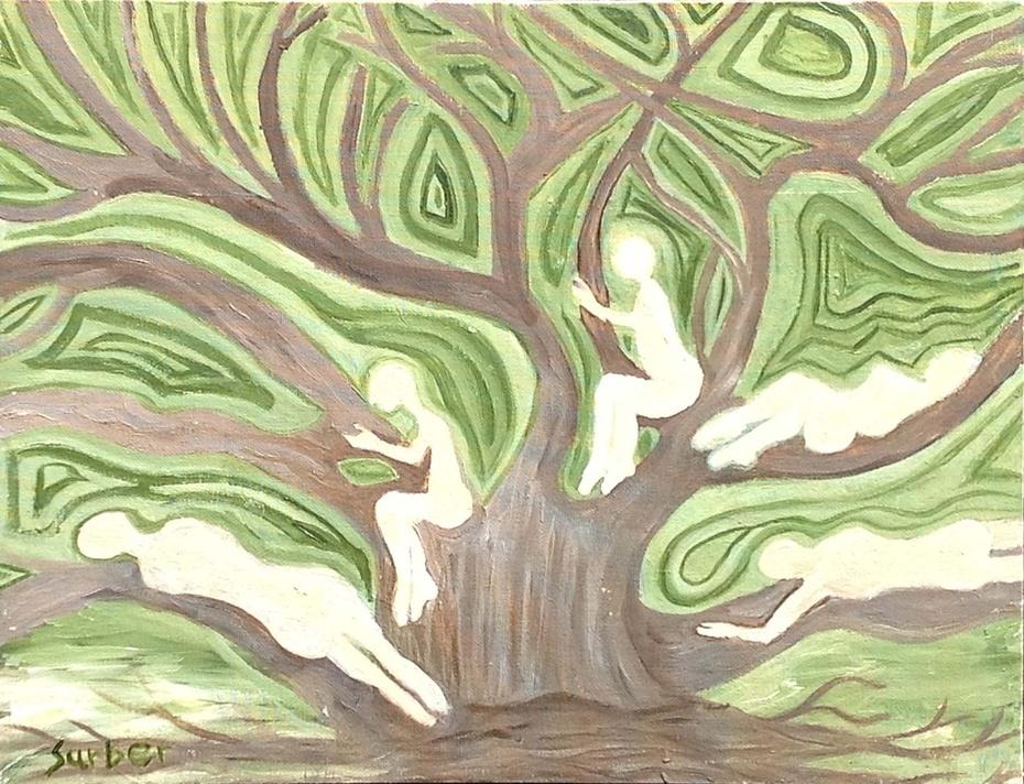 Girls in a Tree