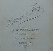 Darwin Backmark- Elliott & Fry Talbotype Gallery
