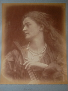 And Enid Sang by Julia Margaret Cameron