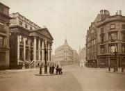 Mansion House Street, 1870's ? Albumen print