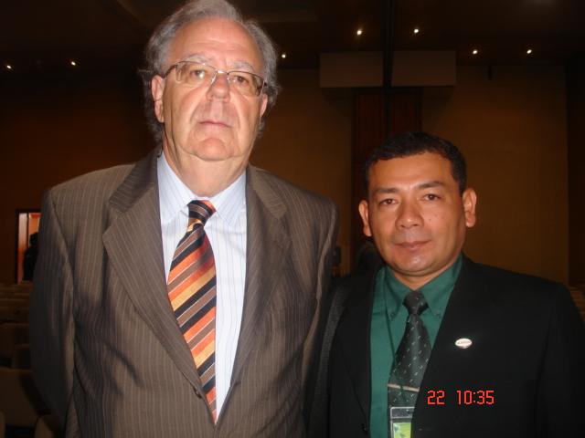 Con el Dr. Lorenzo García Aretio