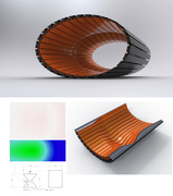 Auxetic Linear Material