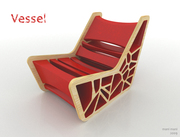 Vessel chair by Mani Mani