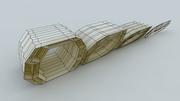 multi-layered rigid-foldable tube