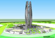 Bioclimatic-Generated skyscraper