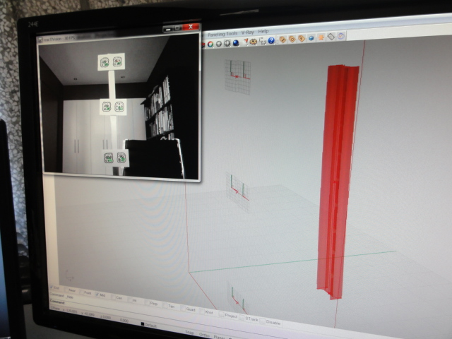 02 Camera Tracking before bending – Screen shot