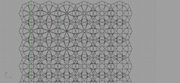 islamic pattern_hankin's method+attractor