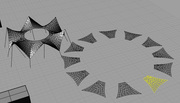 Planar shapes closest to surfaces