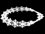 Snowflake Moebius Bracelet