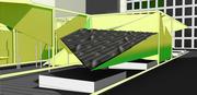 multiple mesh panel mold technique with kangaroo - in scene