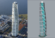 Turning Torso Cover
