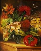 Moje obrazy - kwiaty i nie tylko